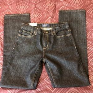 Old Navy Boy's Loose Bootcut Jeans, NWT, Size 14